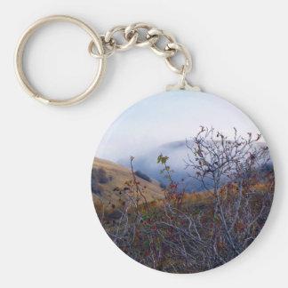 Brush and fog keychain