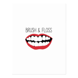 Brush & Floss Postcard
