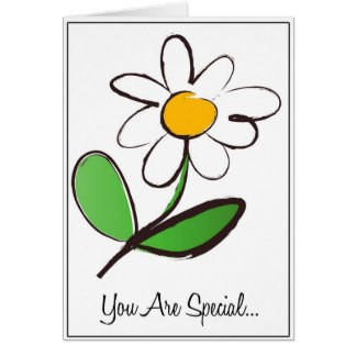 Brush Flower Special Card