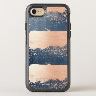 Brush Strokes Denim Blue & Pink OtterBox Symmetry iPhone 7 Case