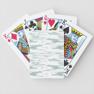 Brush strokes pattern 10 bicycle playing cards
