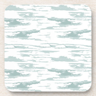 Brush strokes pattern 10 coaster