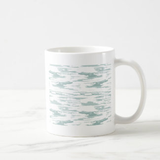 Brush strokes pattern 10 coffee mug