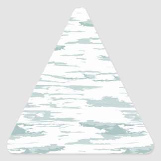 Brush strokes pattern 10 triangle sticker