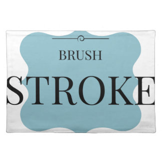 Brush Strokes Placemat