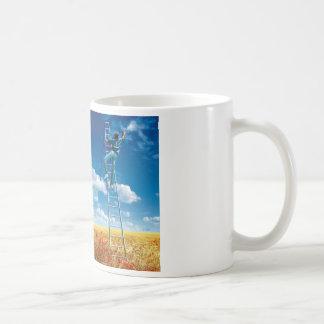 Brush the Sky - cup Classic White Coffee Mug