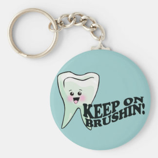 Brush Your Teeth! Keychain