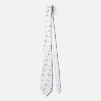 Brushed Bird Tie
