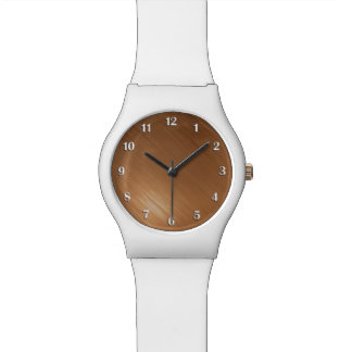 Brushed Copper Look Watch