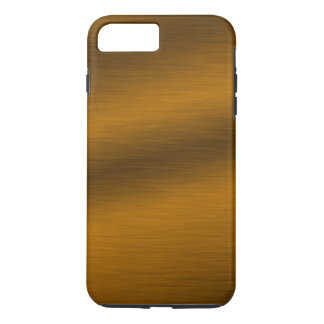 Brushed Faux Bronze Background iPhone 8 Plus/7 Plus Case