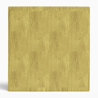 Brushed Gold 3 Ring Binder