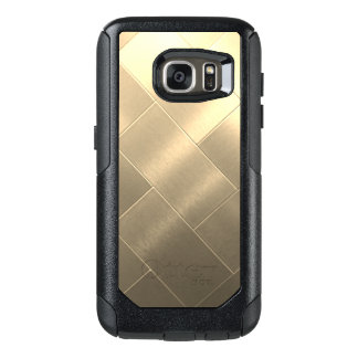 Brushed Gold style Samsung Cases