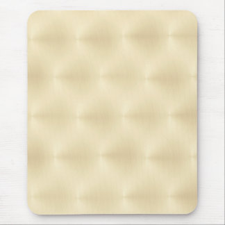 Brushed Metal - Gold Background Mouse Pad