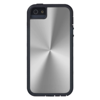 Brushed metal iPhone 5 cover