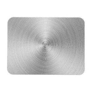 Brushed Metal Look Magnet