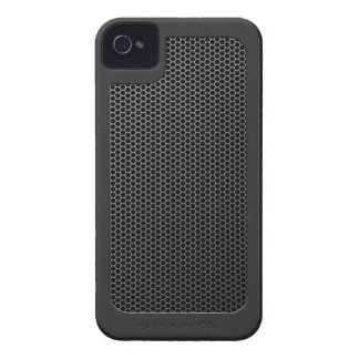 Brushed Metal Mesh with surround iPhone 4 Case