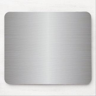 brushed metal mousepad