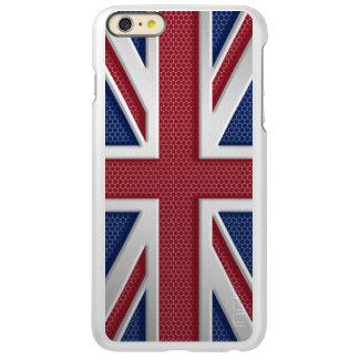 Brushed Metal Style Union Jack