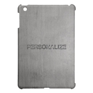 Brushed Metal Texture Cover For The iPad Mini