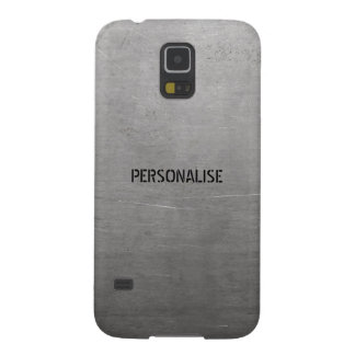 Brushed Metal Texture Galaxy S5 Cases