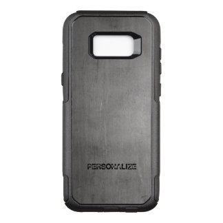 Brushed Metal Texture OtterBox Commuter Samsung Galaxy S8+ Case