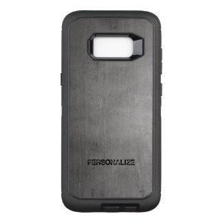 Brushed Metal Texture OtterBox Defender Samsung Galaxy S8+ Case