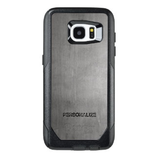 Brushed Metal Texture OtterBox Samsung Galaxy S7 Edge Case