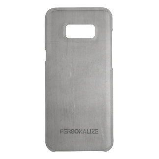 Brushed Metal Texture Uncommon Samsung Galaxy S8 Plus Case