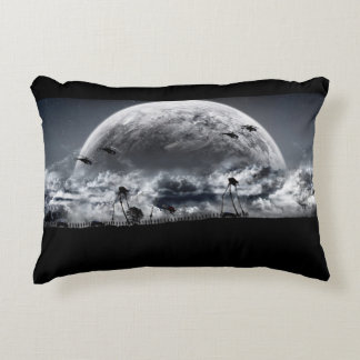 Brushed Polyester Accent Pillow MOON