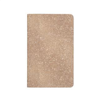 Brushed Rose Gold Journal