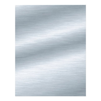 Brushed Silver Look Background Letterhead