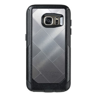 Brushed Silver style Samsung Cases