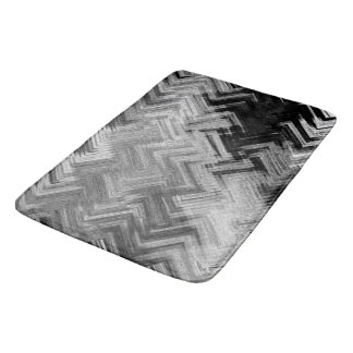 Brushed Steel Bath Mat by C.L. Brown