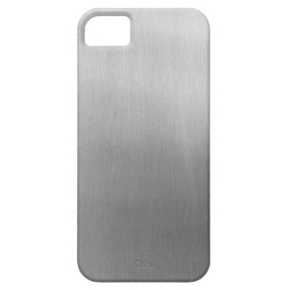 Brushed steel iPhone 5 case