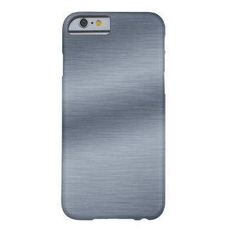 Brushed Steel Look Elegant iPhone 6 Case