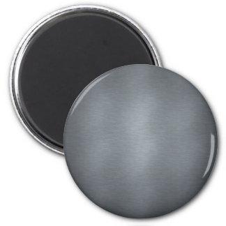 Brushed Steel Magnet