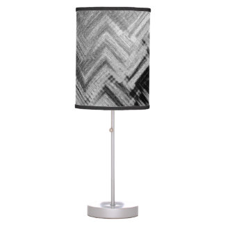 Brushed Steel Table Lamp by C.L. Brown