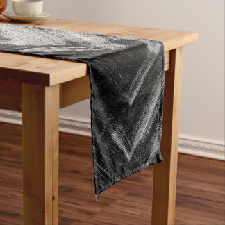 Brushed Steel Table Runner by Artist C.L. Brown
