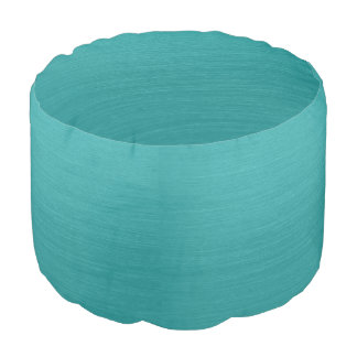 Brushed Teal Metal Look kash001 Pouf