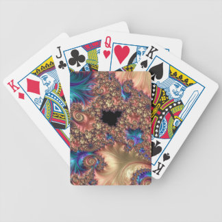 Brushstroke and Response Fractal Bicycle Playing Cards