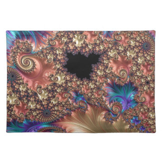 Brushstroke and Response Fractal Placemat