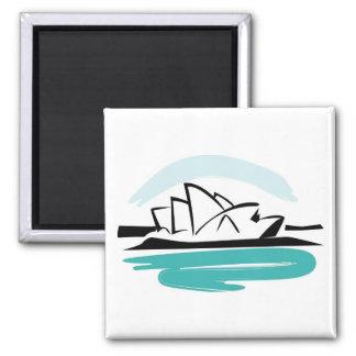 Brushstroke Sydney Destination Magnet
