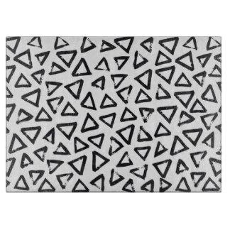 Brushstroke Triangel Pattern, Scandinavian Design Boards