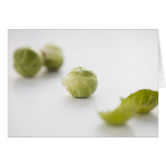 Brussel Sprout Greeting Card