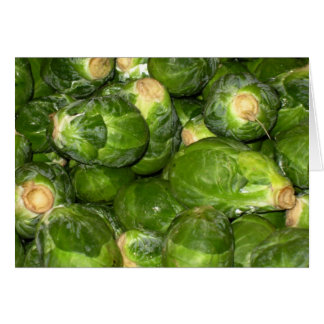 Brussel Sprouts Card