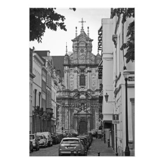 Brussells. View of Beguinage church Photo Print