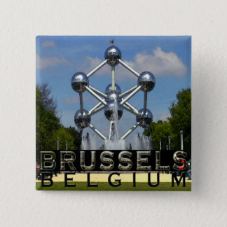 Brussels 2 Inch Square Button