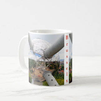 Brussels. Atomium....over the city. Coffee Mug