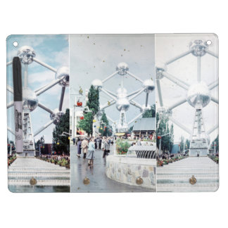 Brussels Atomium Photo Collage Dry Erase Whiteboards