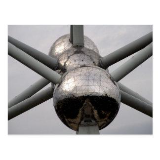 Brussels Atomium Postcard